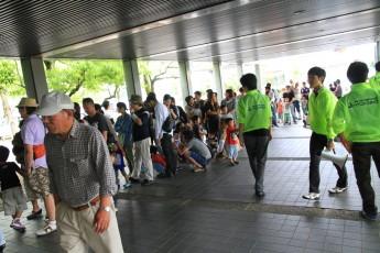 「仮面ライダースーパーライブ2012」共催時の情景